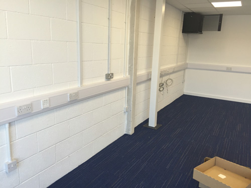 Office refurbishment Barnsley