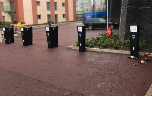 Electrical Vehicle Charging Points, Manchester