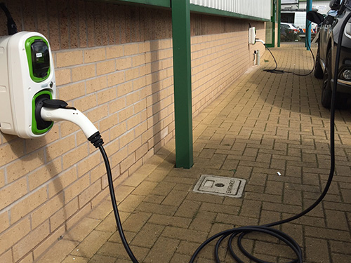EV Charging points, Featherstone