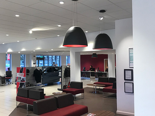LED Lighting installation Wakefield