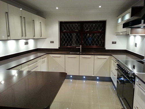 Ossett kitchen lighting installation